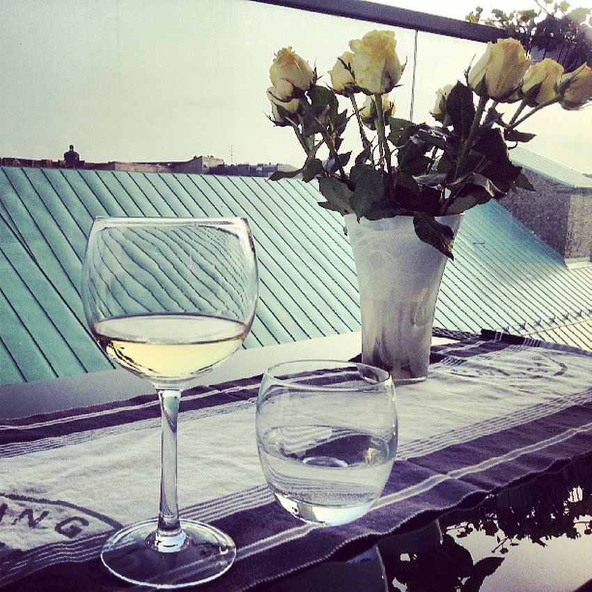 Vin passar ypperligt med härlig mås-sång! Sommaren ägerallagånger