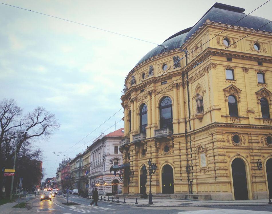 Operahouse Szeged Hungary . Eyeem Hungary Eyeem Szeged Walking Around Streets of Szeged. Taking Photos City Old Buildings
