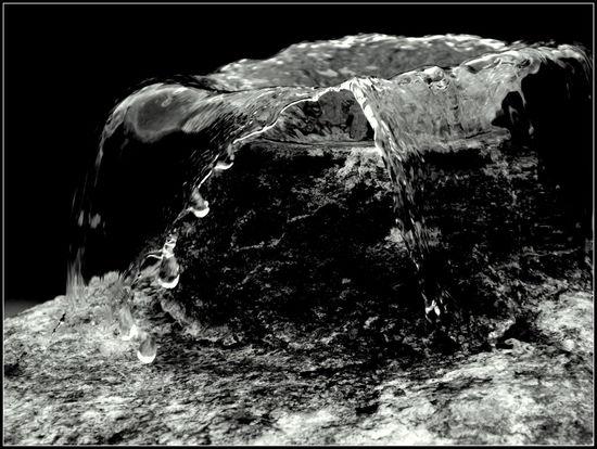 Water Schwarzweiß Black And White