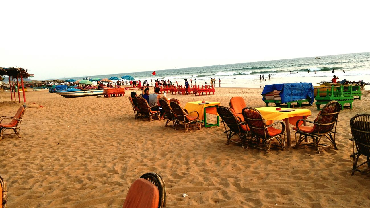 CalanguteBeach Beach Sand Vacations Summer Sky Beauty In Nature Nature Goa India