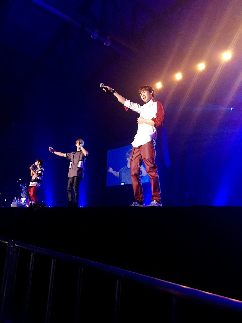 2pm Koean Band Nickhun FrontSeatShot Concert Past Young Hottest Jypentertainment BKK Thaihottest People Together Festival Season Music Brings Us Together