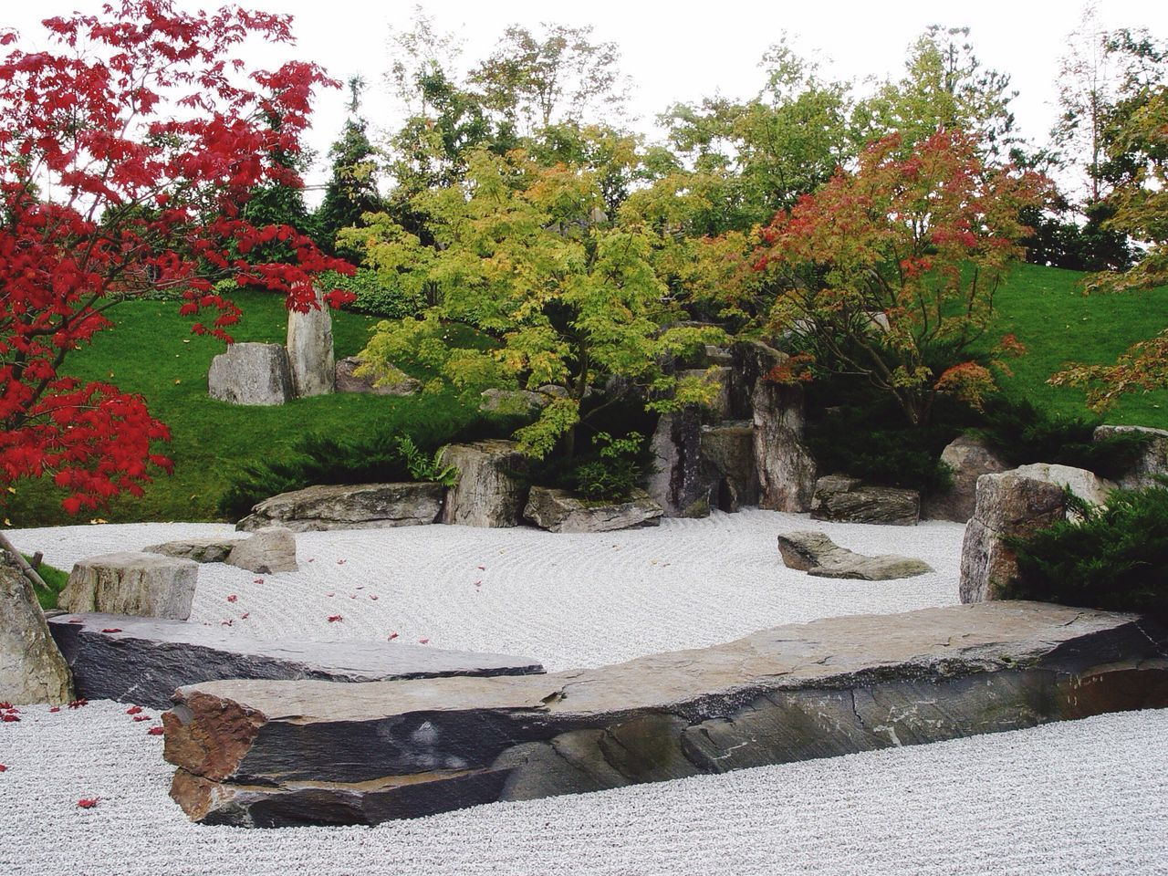No People Outdoors Day Zen Zen Garden Garden