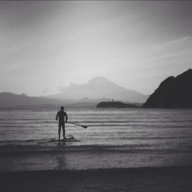 Sea Beach Japan Mt.Fuji enoshima