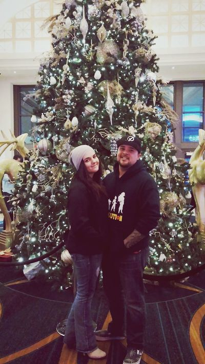 Me and my girl Got This Relationship With Babe Xmas Tree At The Casino