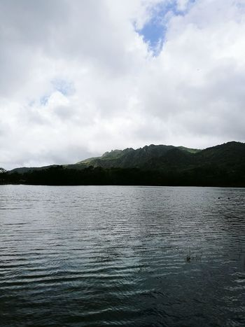Lake Water Nature Landscape Outdoors No People Scenics Mountain Panama507
