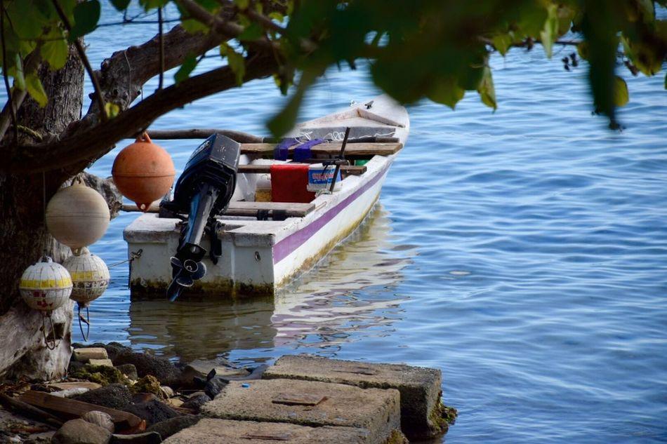 Beautiful stock photos of bora bora, Boat, Buoy, Day, Lake