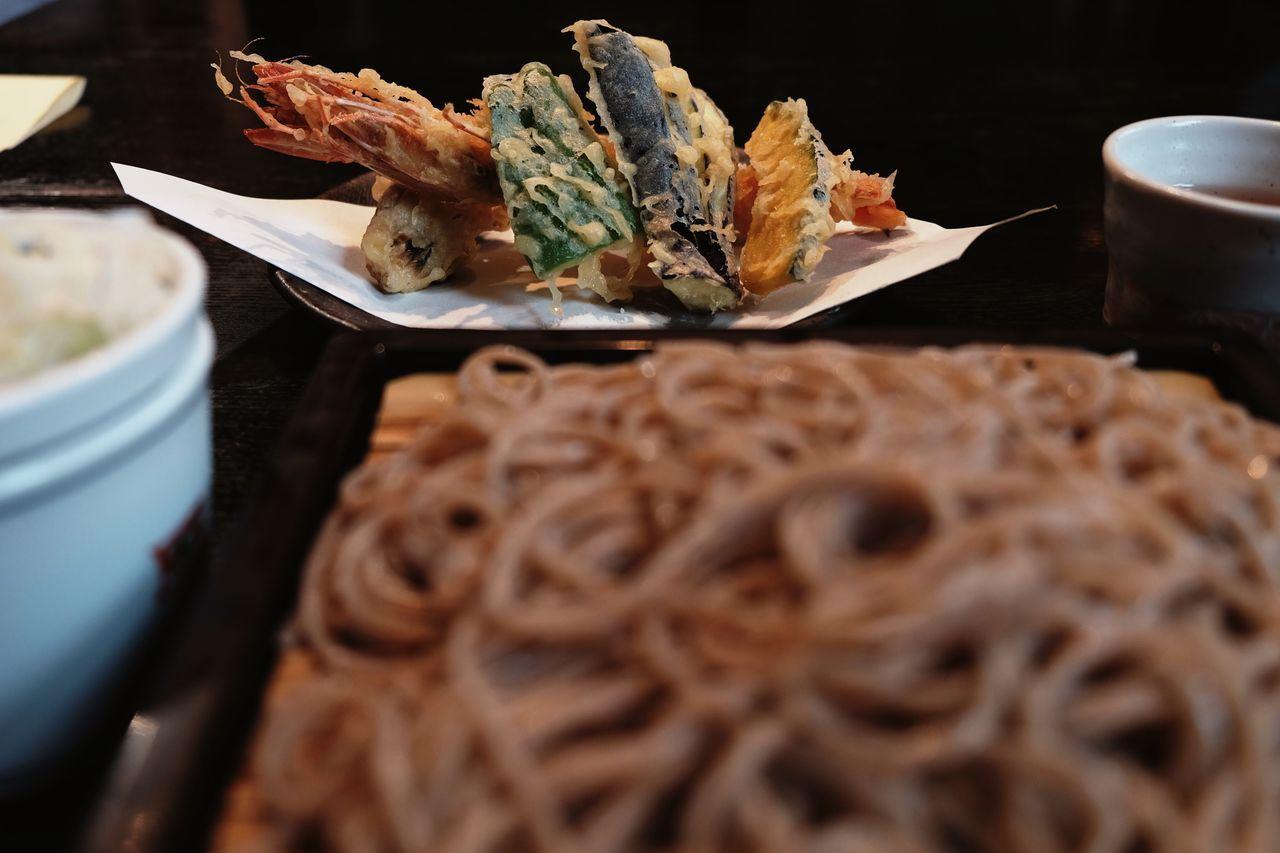 My World Of Food Tempura Buckwheat Japanese Food Food Popular Photos EyeEm Best Shots