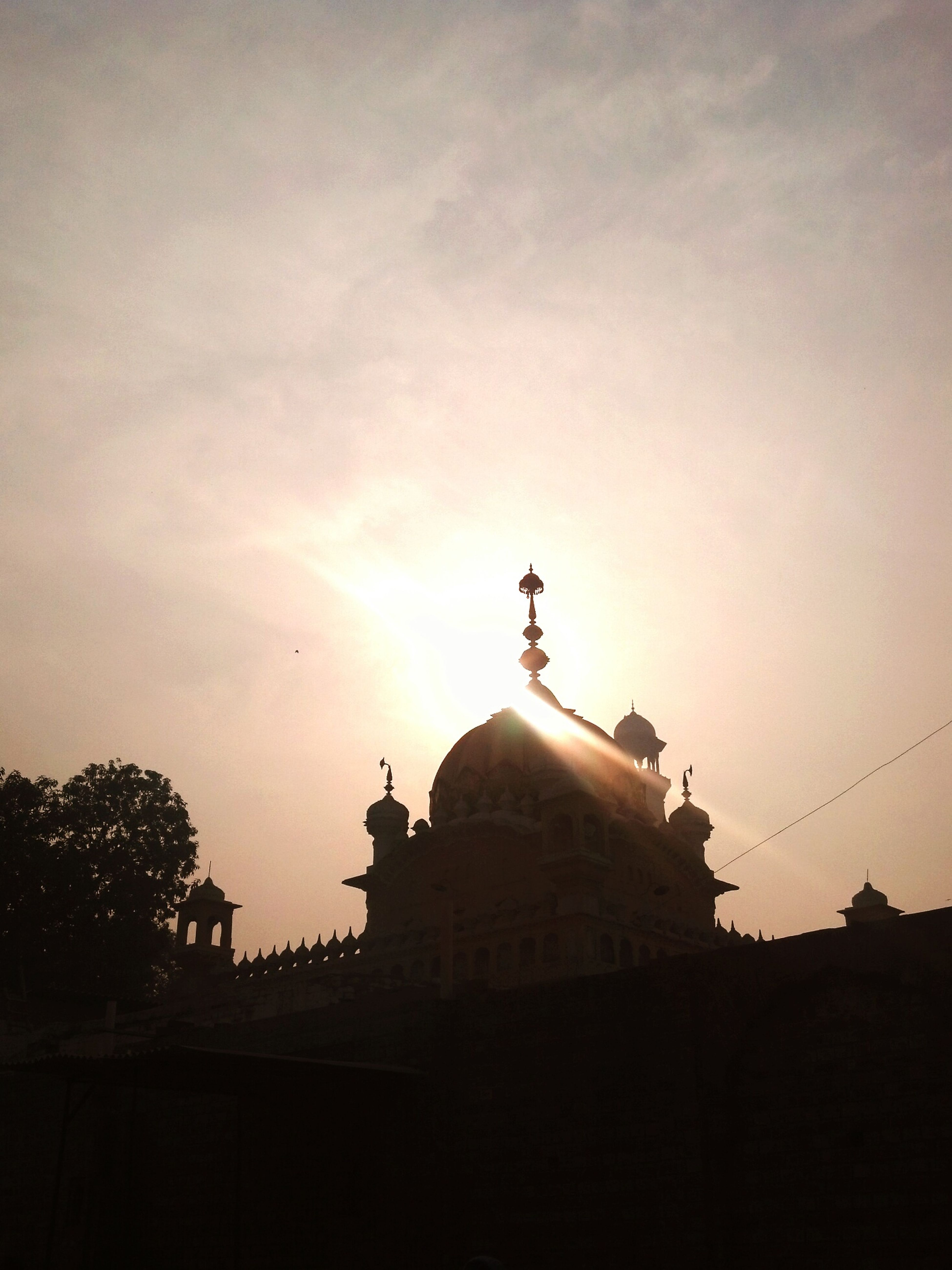 Sun shines over the Gurdhvarh in lahore city, Every Religion Is True , Beauty Of Pakistan