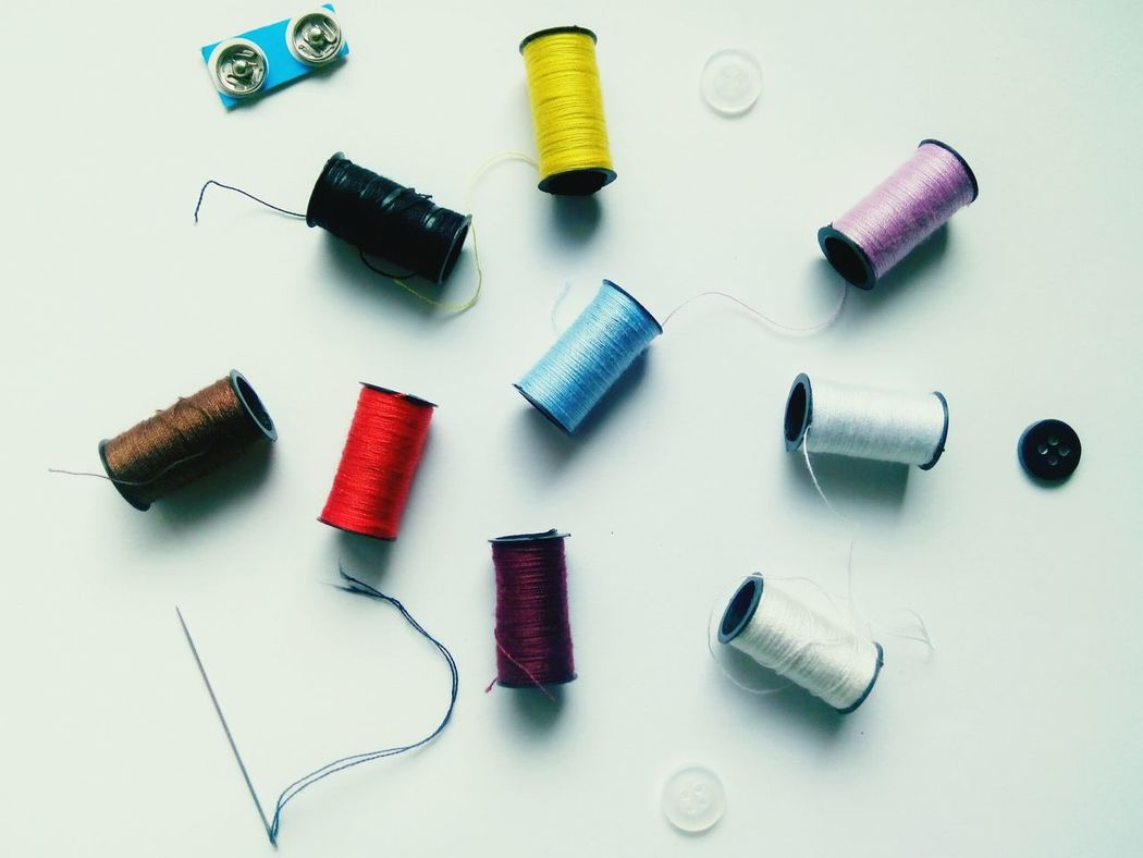 Studio Shot Arts Culture And Entertainment Large Group Of Objects Spool Sewing White Background Gray Background Indoors  No People Day Needle Sewing Item Sewing Stuff Sewing Kit Threads Colorful Threads EyeEm Selects Eyeem Philippines EyeEm Best Shots EyeEm Gallery Eyeem On Week