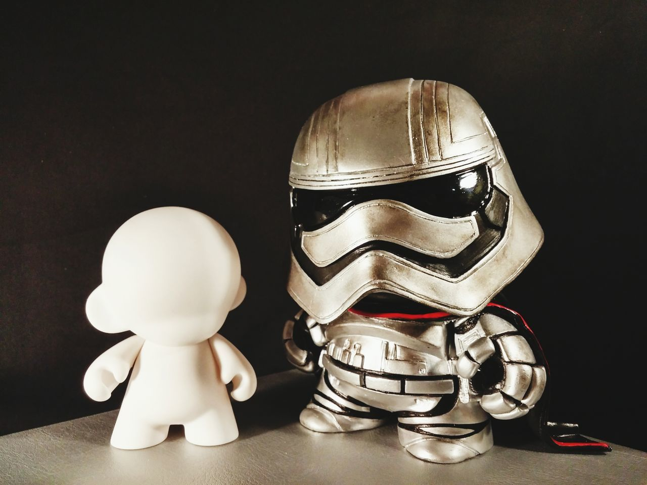 Munny Kidrobot Star Wars Captain Phasma The Force Awakens First Order Starwars Darthvader Starwarsfan Sculpture UrbanART Vinyltoys For Sale Etsy Handmade Unique Chrome The Iron Cat Jedi Stormtrooper The Force Skywalker Star Wars 7 Christmas Gift