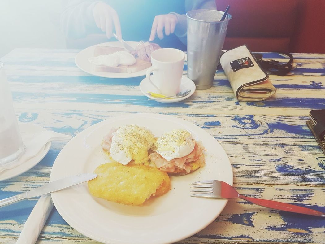 Brunch with my Gabby 😍 Bestfriend Food Breakfast Happy Finishedwork Yay Love Foodporn