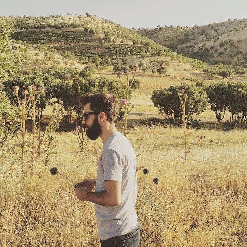 Me Yellow Dry Green Tree Grey Beard Bearded Beards Beardlife