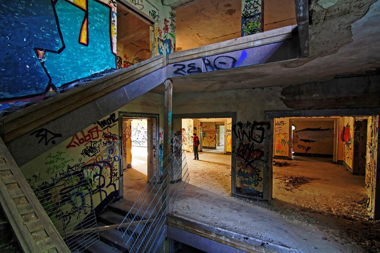 Art Brandenburg Graffiti Historical Historical Building Historical Place Morbid Old Rotten Places Sepia
