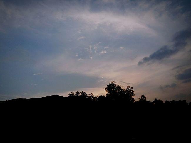 Sunset sky at proton city, factory area. Sunset Sky Sky And Clouds Silhouette Sunset Silhouettes Getting In Touch Enjoying The Sun Beautiful Nature EyeEm Malaysia Open Edit