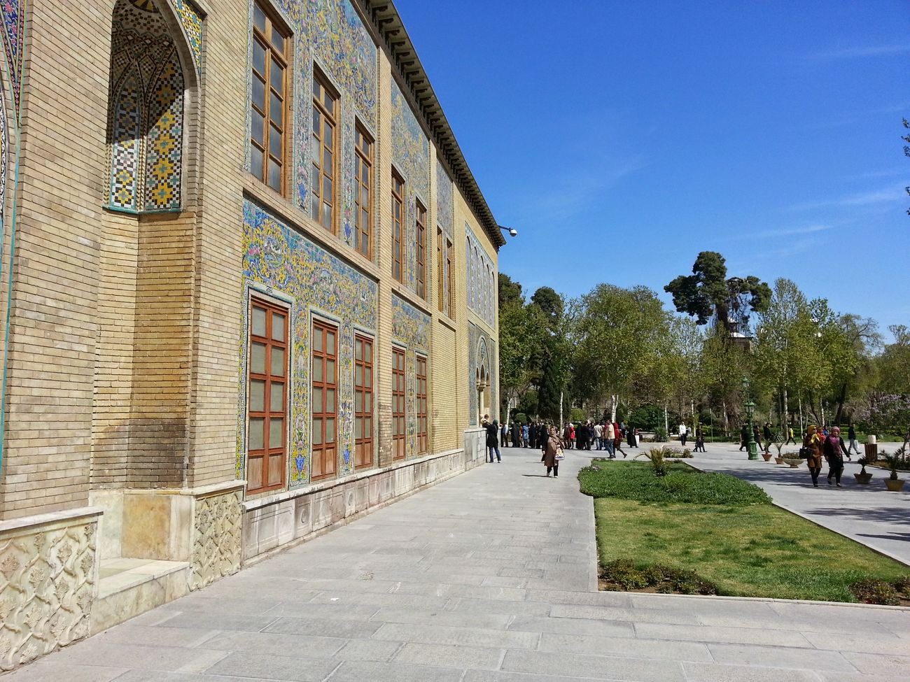 Tehran Kakhe Golestan Golestan Palace Qajar My City Tehran