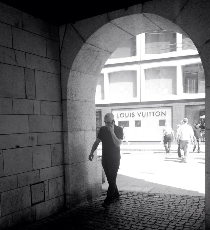 streetphotography at Place du Molard by Shaima M