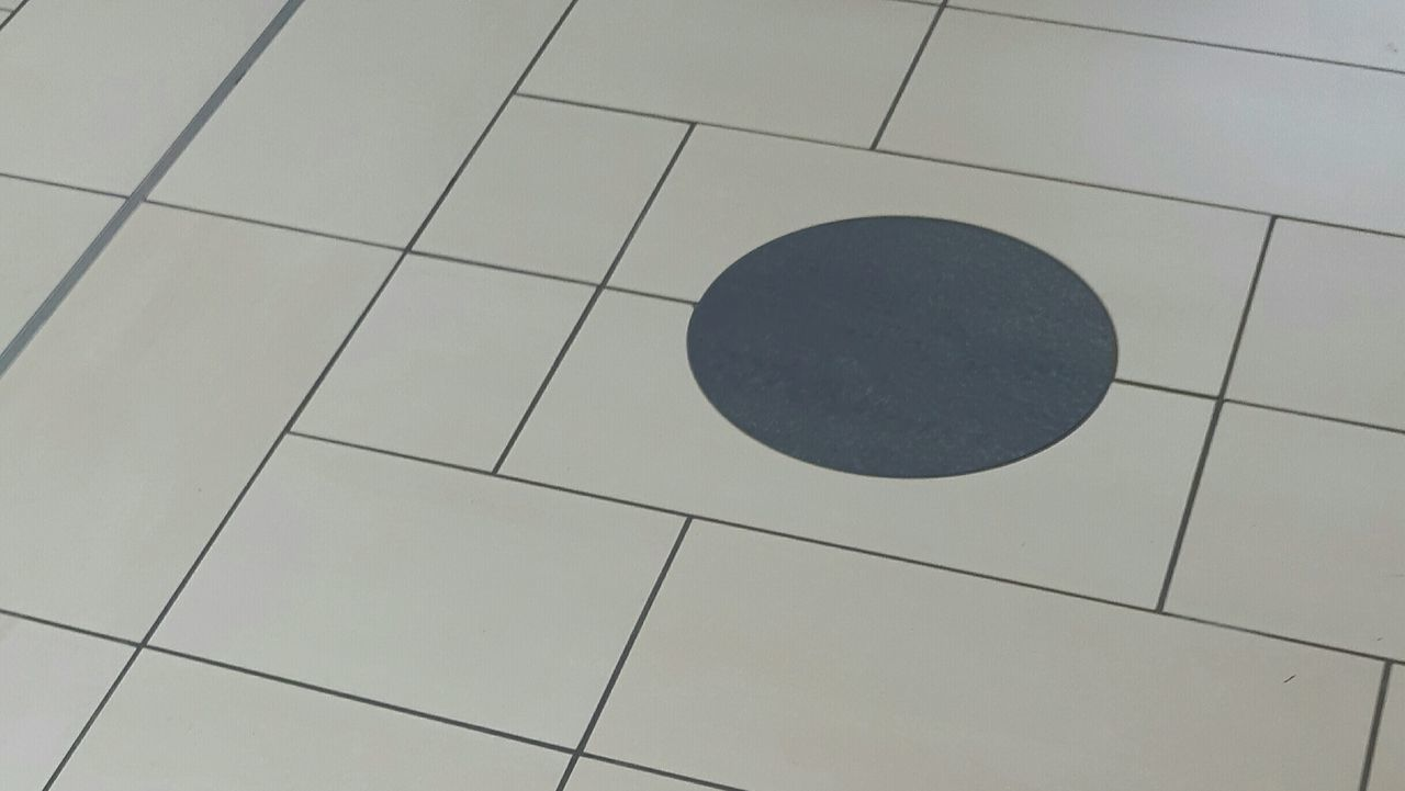 Shape Tile Pattern Tiled Floor No People Day Close-up Grey Gray Gray Background Building Interior Decor Corridor