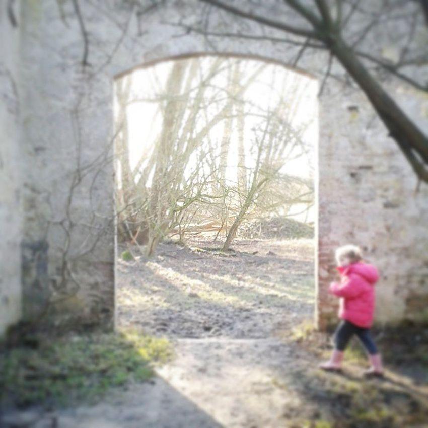Lekker wandelen in de Blauwekamer Girl Door Nature