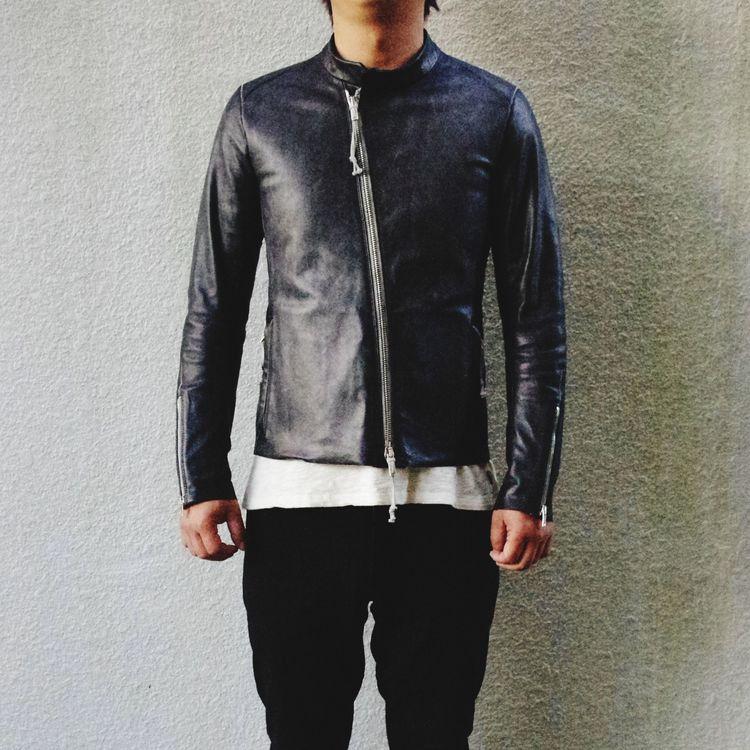 Menswear Handmade Unus Japanesecraftsman Leather Artisan Leatherjacket