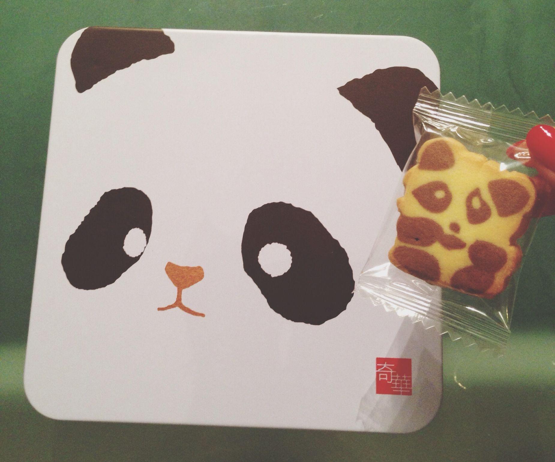 This is sooo cute! Panda cookies! Cute Panda Cookies Panda