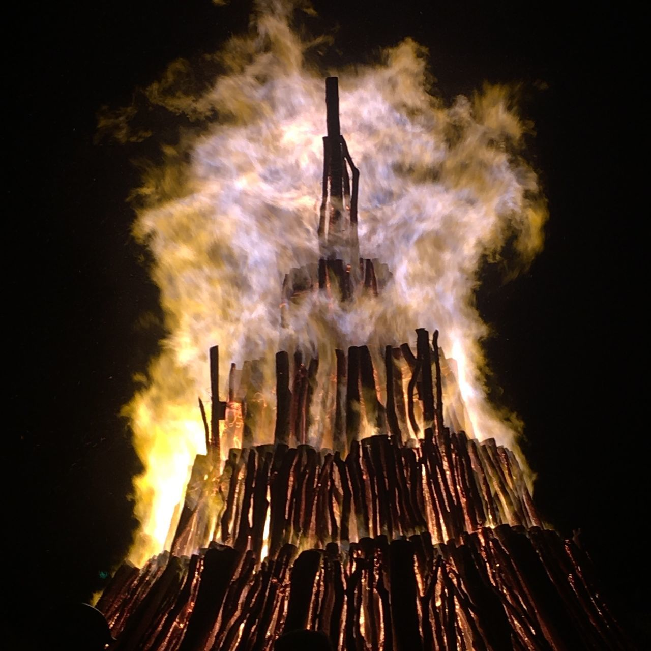 Photographic Memory Bonfire Texas A&m Aggies Tamu