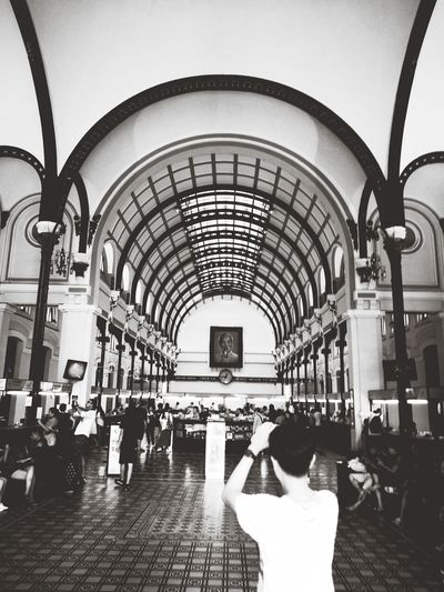 Indoors  Arch Architecture Travel Destinations Holidays Historical Building City Sommergefühle