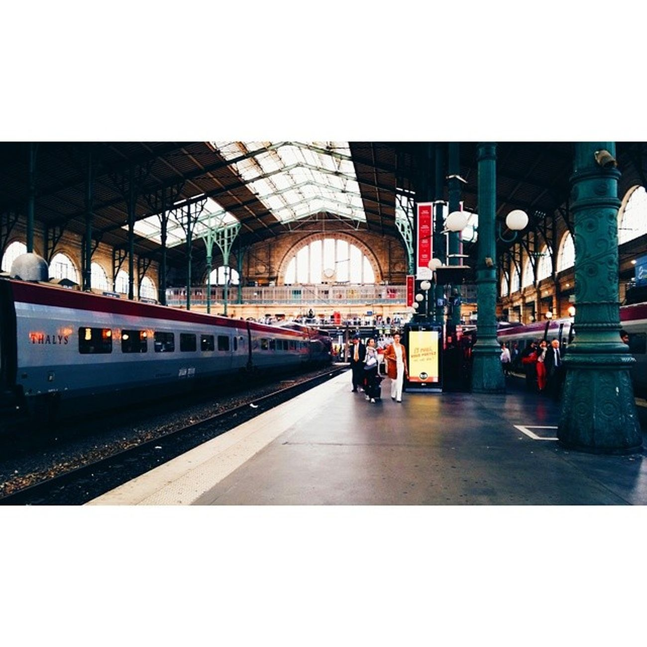 Brussels here I am • VSCO Vscocam Paristobrussels Paris trainstation