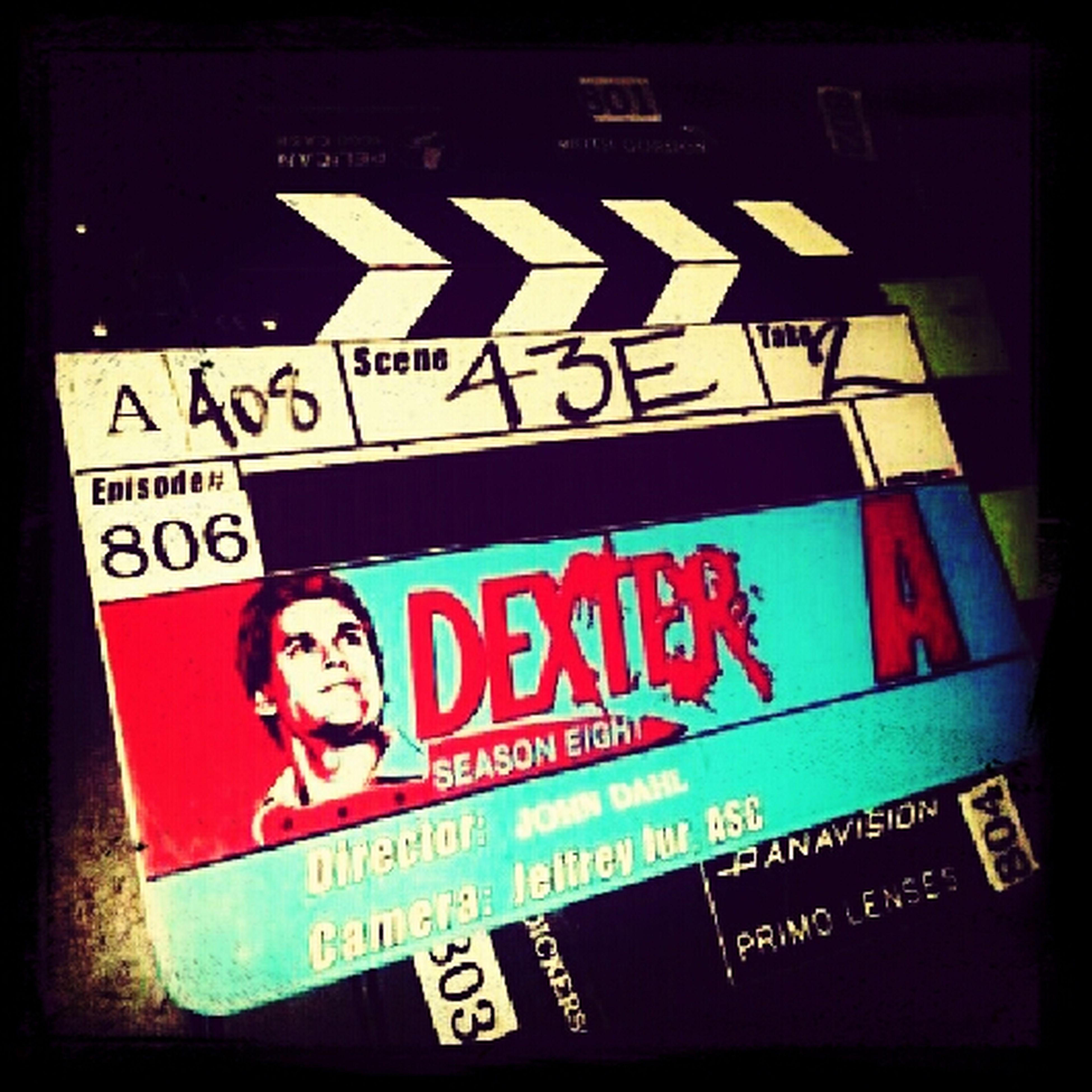 Enjoing Dexter