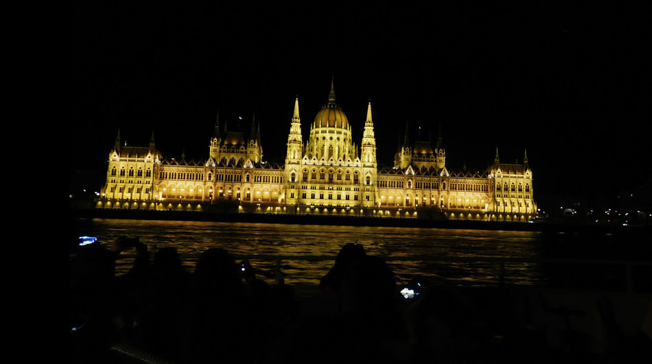 Architecture Building Exterior Built Structure City Dome Government Illuminated Night No People Outdoors Parlament Budapest Budapeste Hungary Hungria Gold Politics And Government Schönbrunn, Vienna Austria Tourism Travel Travel Destinations Water