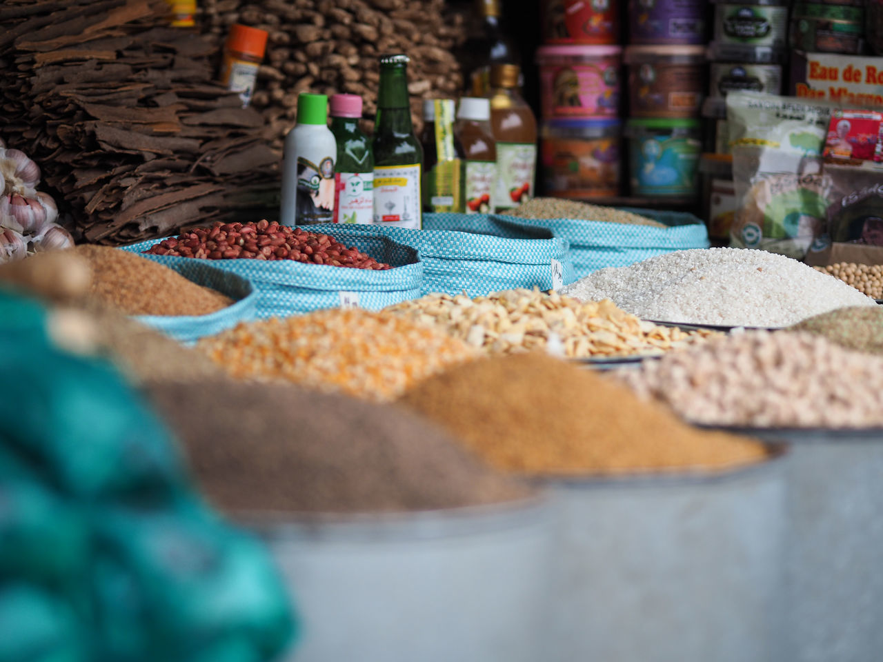 for sale, food, food and drink, retail, variation, market, market stall, choice, selective focus, grain, small business, indoors, healthy eating, freshness, day, no people, close-up