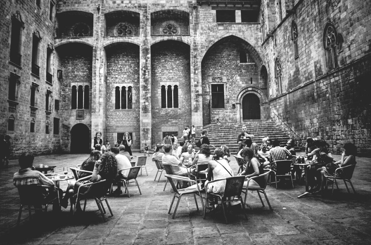 Old town.... Black & White Monochrome Street Photography EyeEm_crew Mi Serie Barcelona