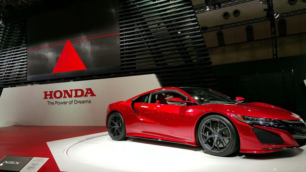 Honda NSX Tokyomotorshow2015