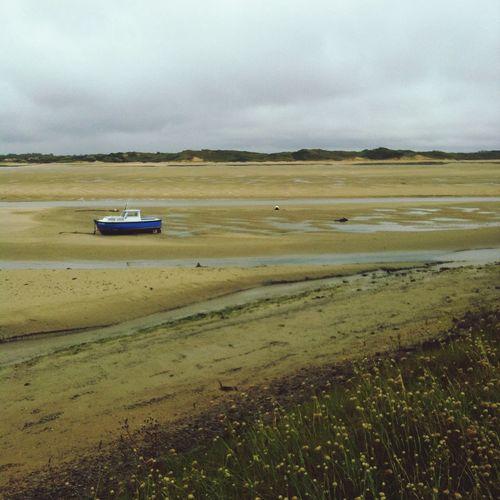 Marée Basse Normandie Cloudy Day