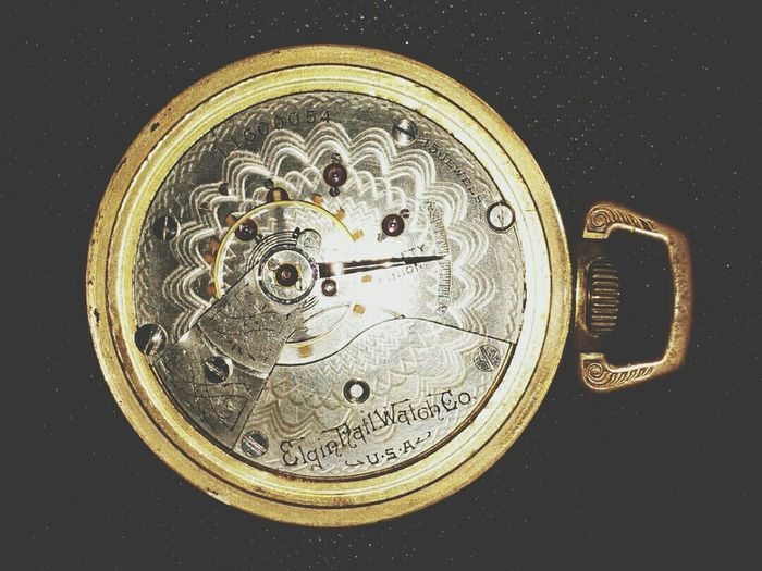 Antique Pocket Watch - Clockwork Watch
