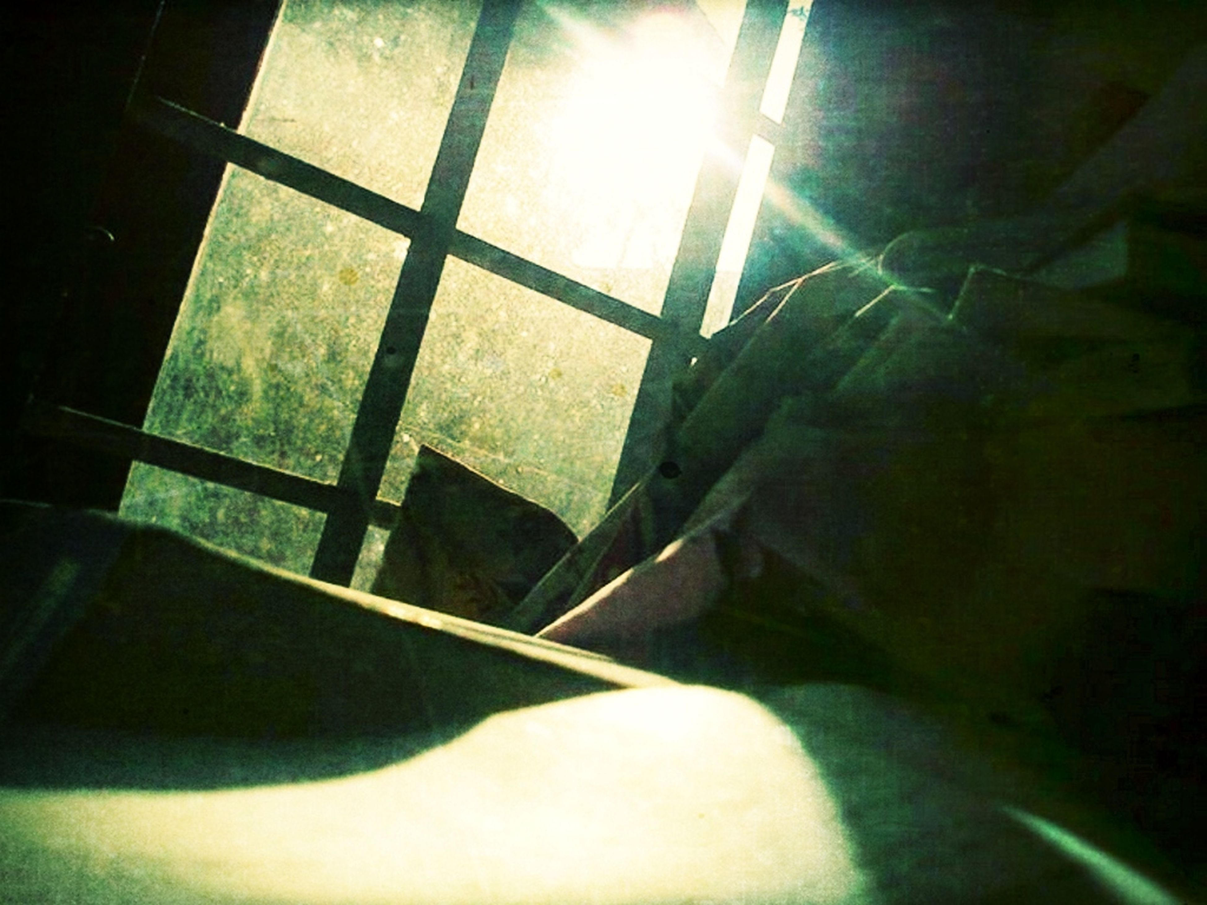 sunlight, sunbeam, sun, indoors, built structure, lens flare, architecture, shadow, sunny, window, no people, bright, day, glass - material, empty, reflection, building exterior, absence, wall - building feature, low angle view
