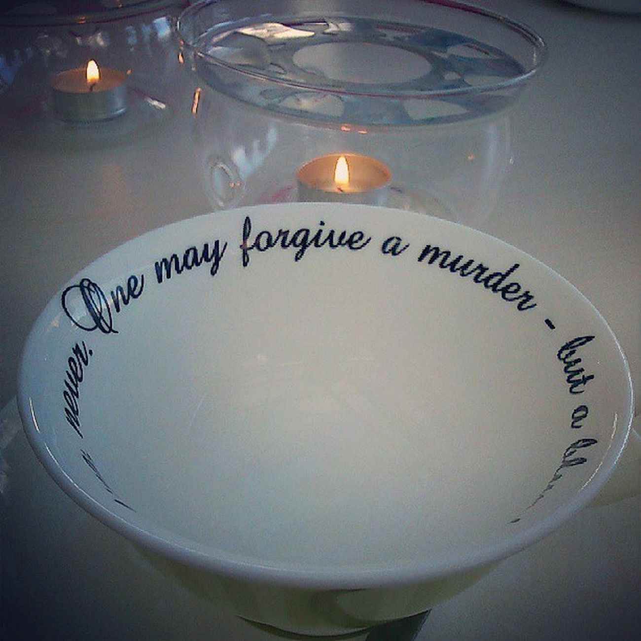 Generous forgiveness...
