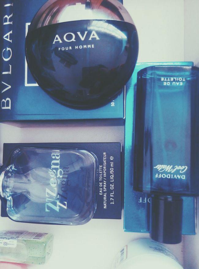 blue... Zegna  Davidoff Bvlgariaqua