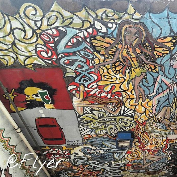 Street Art Walls Painting Streetfashion Streetartandgraffiti Galaxyj7photography Wallpapers Streetmarket Subway Subwayart Indian Artfestival