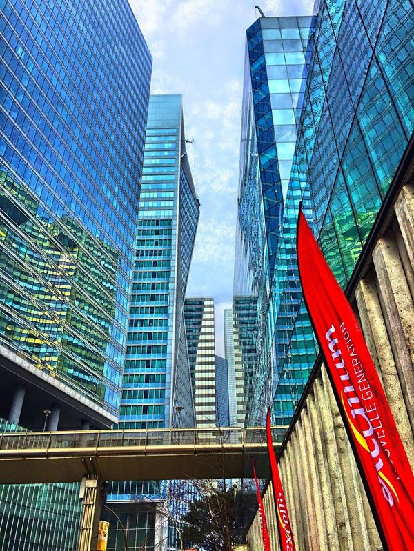 In the towers Paris La Défense Paris La Defense Architecture Architecture_collection Architectureporn Cityscapes Cityscape Pic Of The Day The Places I've Been Today
