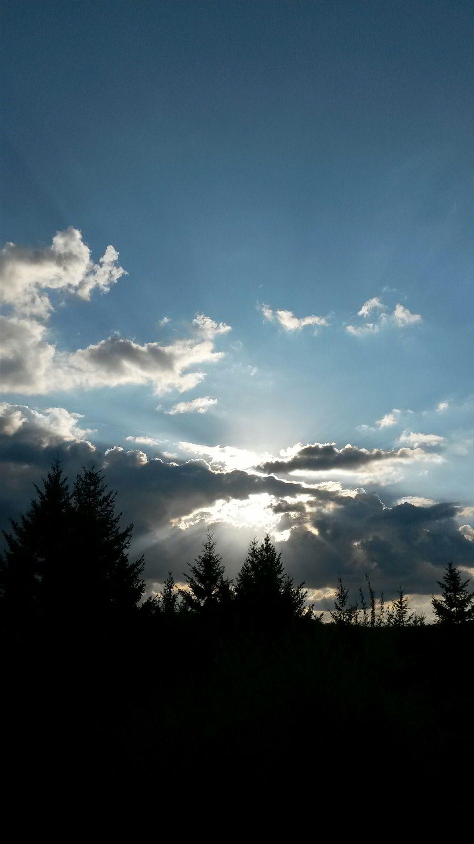 Sunrise Clouds And Sky