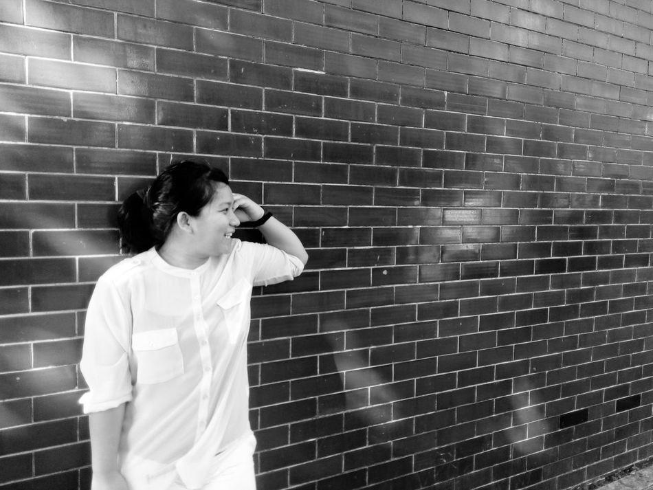 Wallstreet Sunday Simple. Hanging Out Brickbyboringbrick Blackandwhite Monochrome Photography