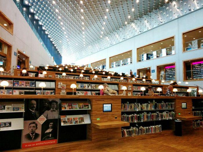 Library. Amersfoort Eemhuis Library Vscocam