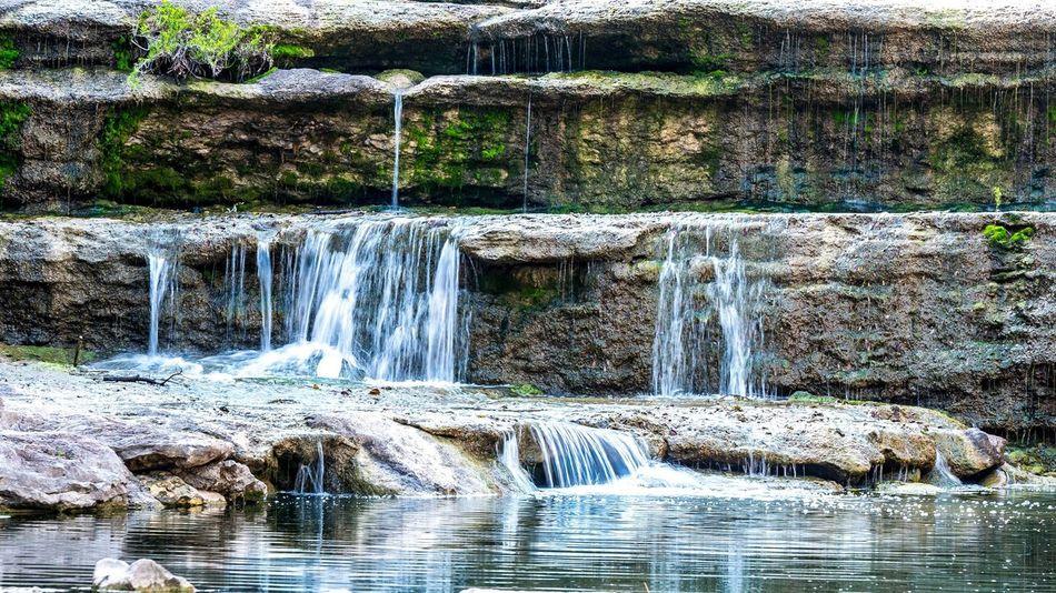Calming EyeEmNewHere Fort Worth Nature Peaceful Relaxing Texas Waterfalls