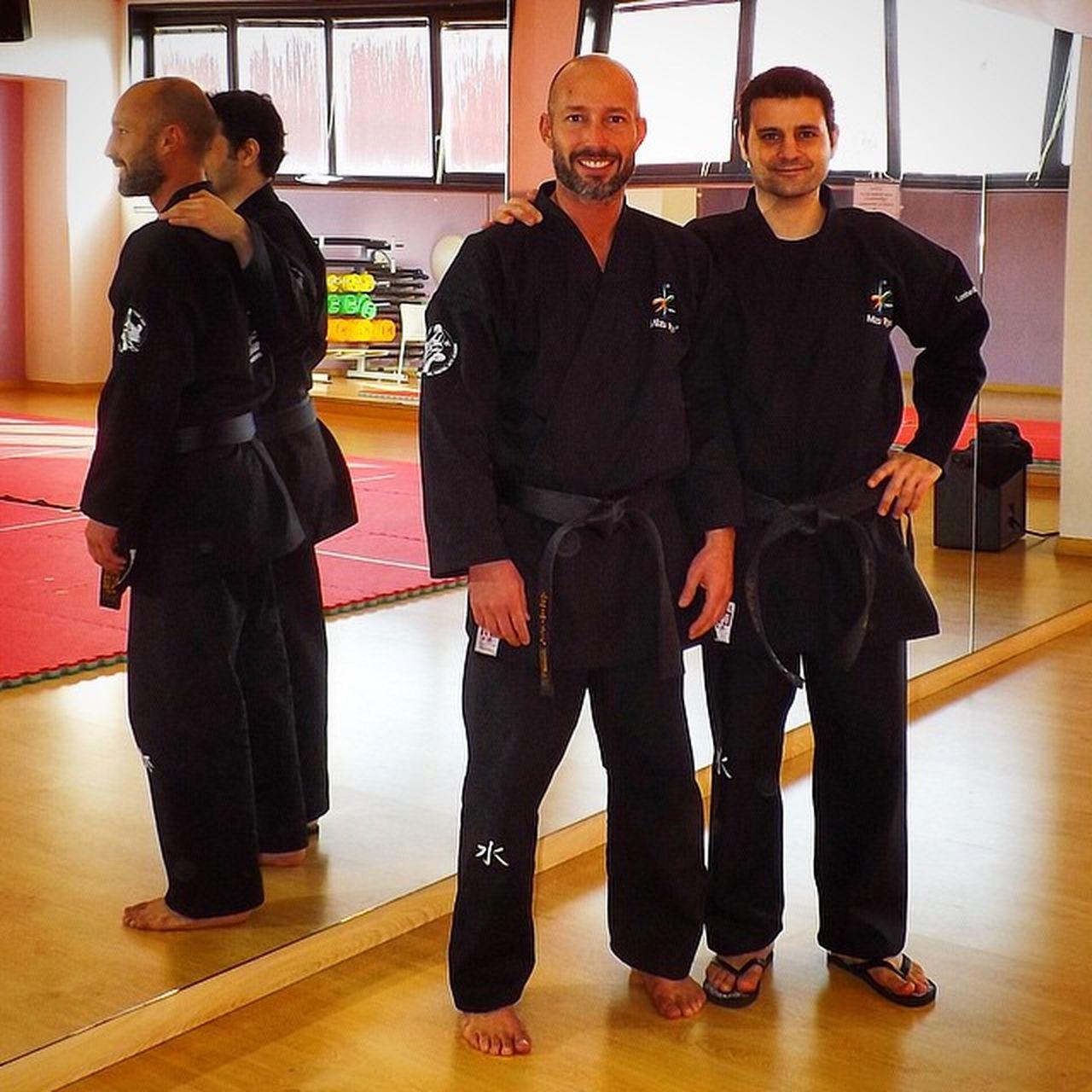 Stage Bamboo Fitness Luca Matteo  Jujitsu Mizuryu Karatejitsu Cosimocosta Levaamansolfianco Finalmenteunafotoassieme