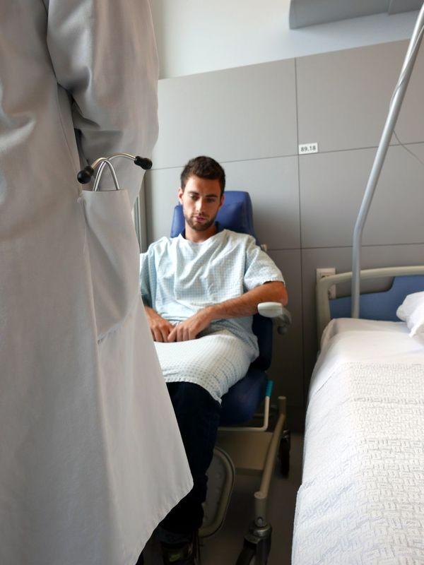 Patient Hospital Room Doctor  Medical