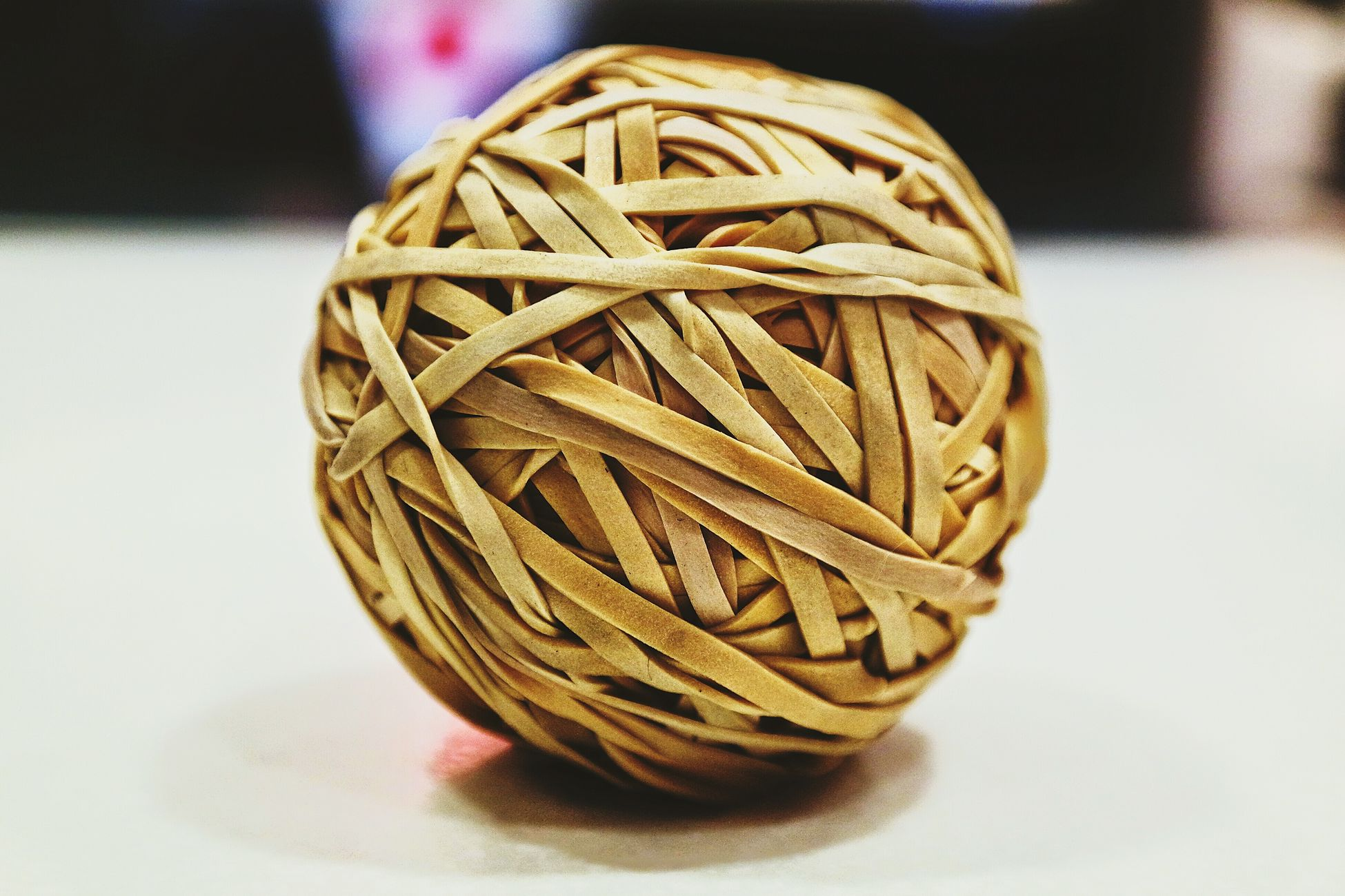 Bored At Work Rubberband Ball