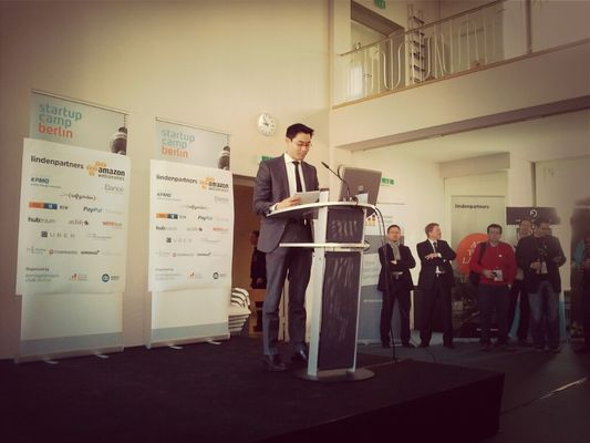 Bundesminister at Startup Camp Berlin 2013 by jankbx