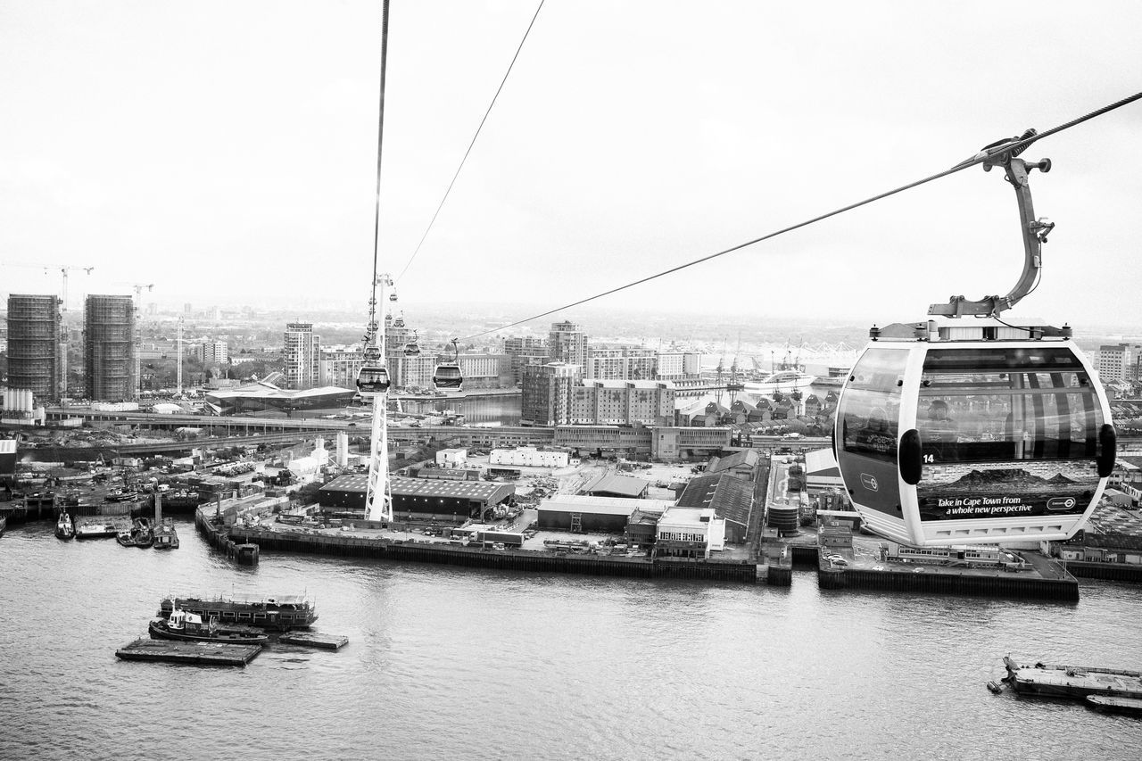 Like flying Blackandwhite City Cityscape Day Fujifilm Fujifilm_xseries Mode Of Transport Monochrome Nautical Vessel No People Outdoors Sky Transportation Vscofilm Water