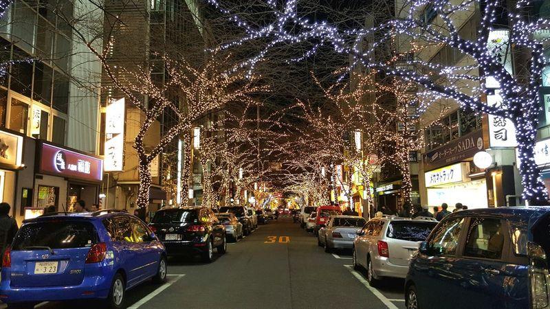 Japan Photography Tokyo Night Tokyo Christmas Lights Christmas Decorations Street Photography
