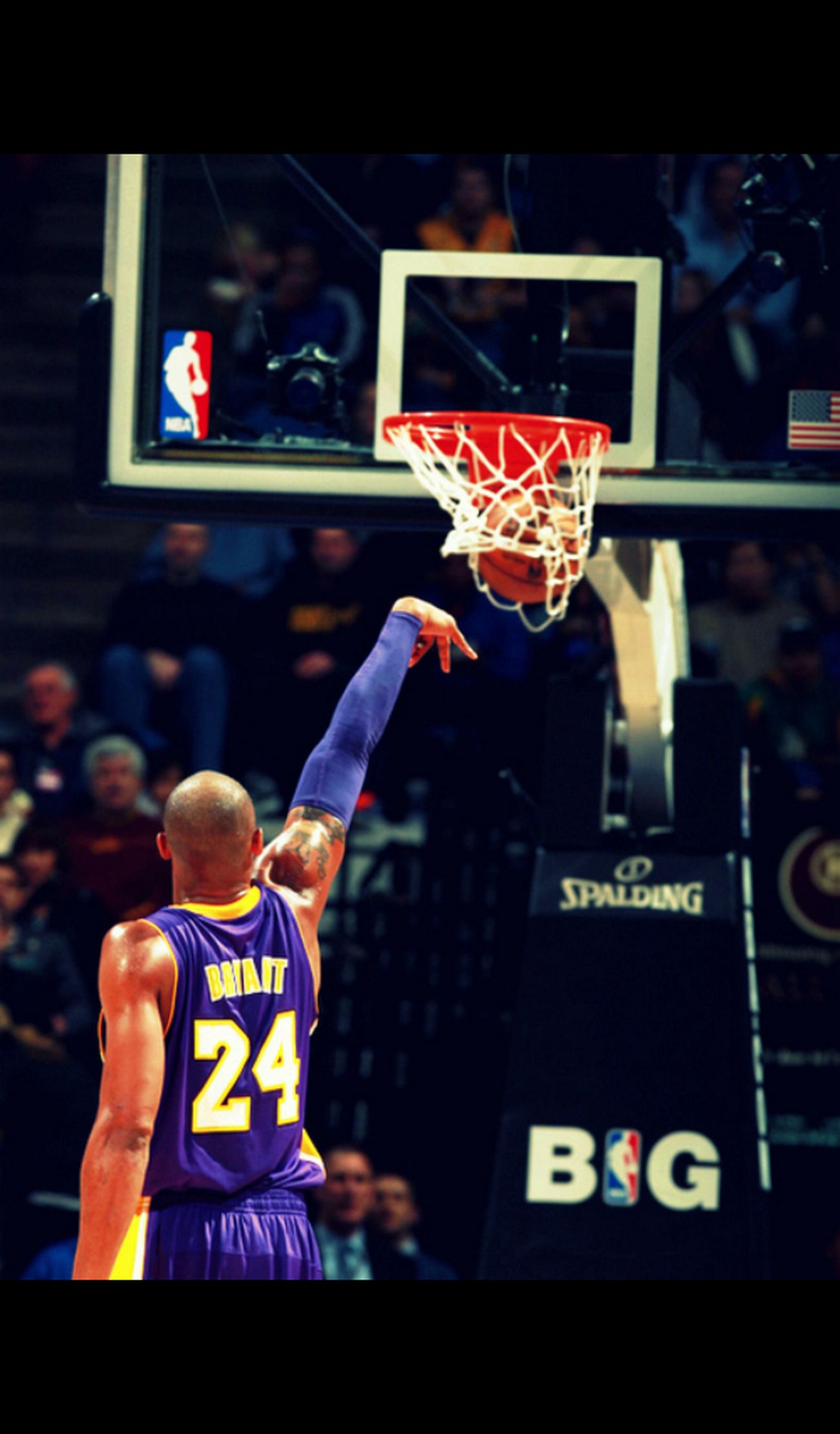 The shot! Kobe Bryant Tiro Stile